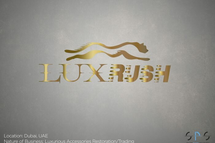 luxrush branding website